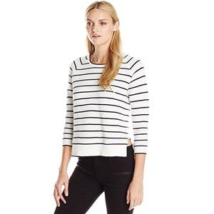 French Connection Fresh Ottoman Sweater Stripe S